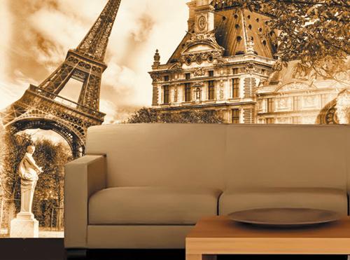 фотообои на стену в интерьере: