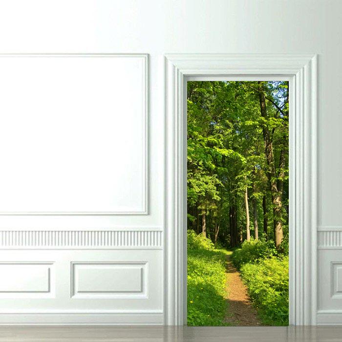 фотообои на дверь самоклеящиеся наклейки