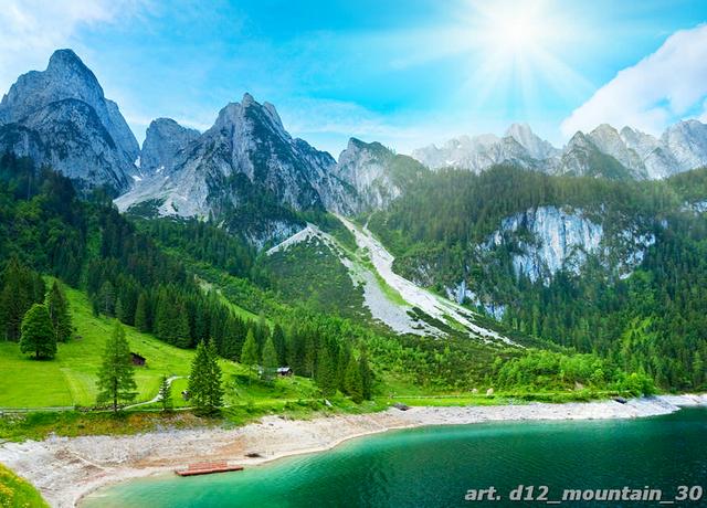 фотообои горы красиво