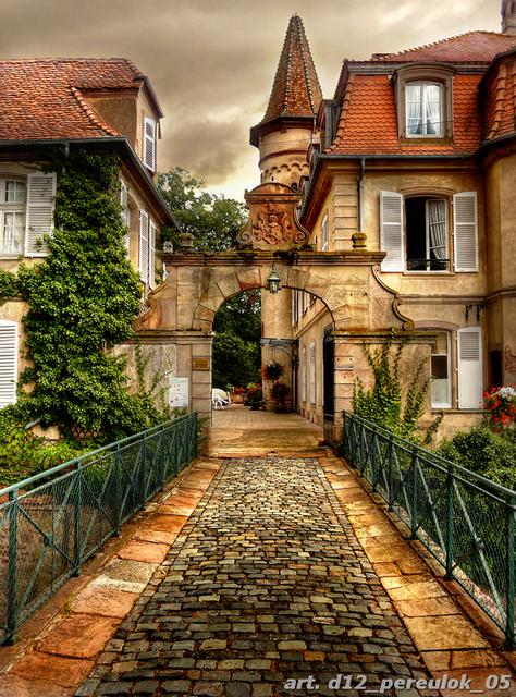 Дизайн старый город